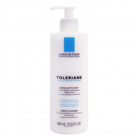 image of 法國 LA ROCHEPOSAY 理膚寶水 多容安清潔卸妝乳液 400mL France  LA ROCHEPOSAY Toleriane dermo-cleanser intolerant skin 400ml