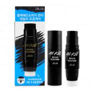 image of 韓國 RiRe 黑竹炭粉刺清潔卸妝棒(附纖細刷) 8g Korea RiRe Brush Cleanser 8g