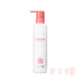 image of 1028 甜橙泡泡卸妝露 200mL Visual Therapy Purifying 2 in 1 Cleansing Gel 200ml