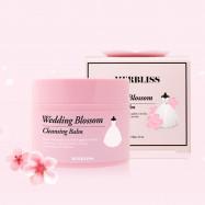 image of 韓國 MERBLISS 婚紗櫻花卸妝膏 ~安宰賢代言~ Korea  MERBLISS Wedding Blossom Cleansing Balm 100g