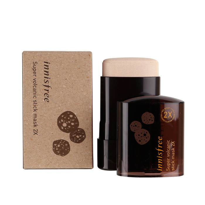 image of 韓國 innisfree 超級火山毛孔清潔面膜棒2X(兩倍強效) Korea Innisfree Super Volcanic Stick Mask 2X