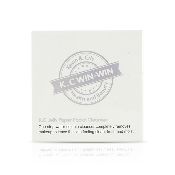 image of K.C WIN-WIN 洗臉紙 100pcs K.C WIN-WIN K.c Jelly Paper Facial Cleanser