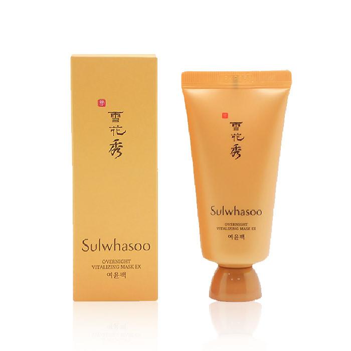 image of 韓國 Sulwhasoo 雪花秀 與潤面膜 30ml  Korea Sulwhasoo Overnight Vitalizing Mask EX 30ml