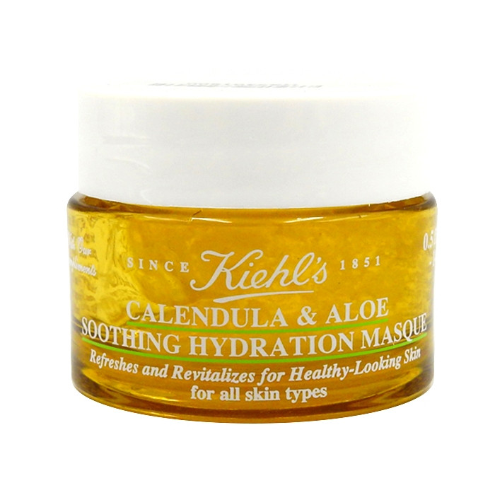 image of Kiehls 契爾氏 金盞花蘆薈精華保濕凍膜 14ml   Kiehls  Calendula & Aloe Soothing Hydration Masque 14ml