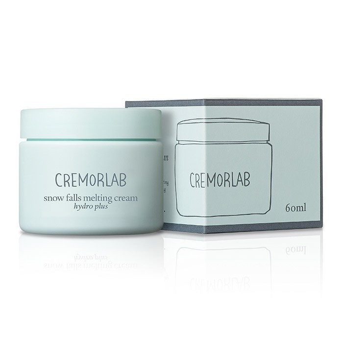 image of  韓國 CREMORLAB 珂麗魅瀾 72小時保濕絲絨雪花霜 60ml NEW   Korea CREMORLAB Snow Falls Melting Cream 60ml NEW
