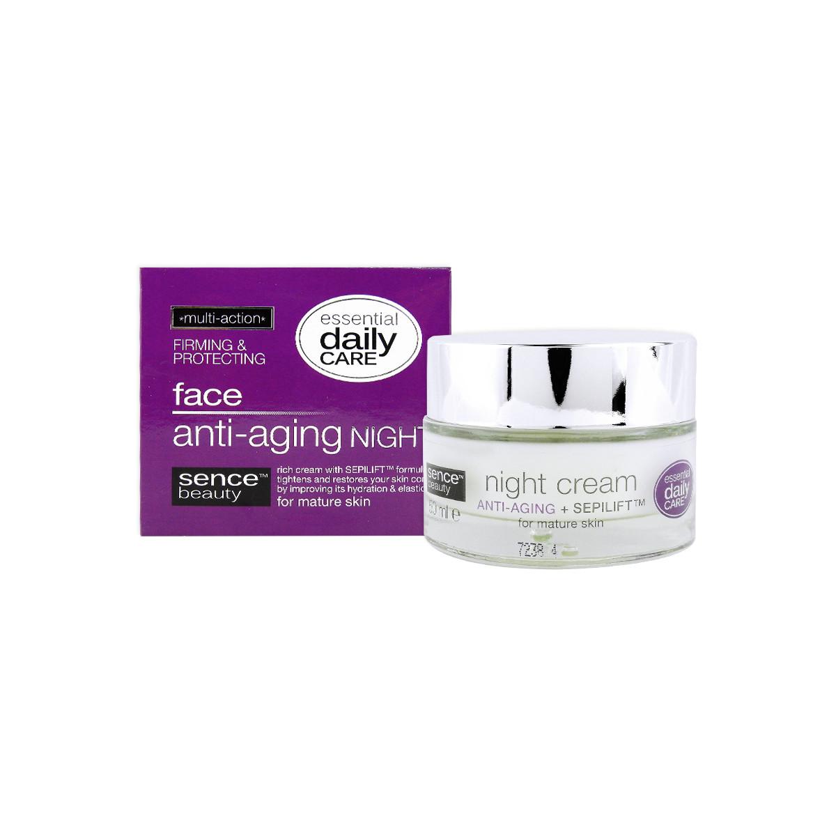 image of  歐洲Sencebeauty 撫紋修護保濕晚霜50ml   Europe Sencebeauty Night Cream Anti-Aging+Sepilift 50ml