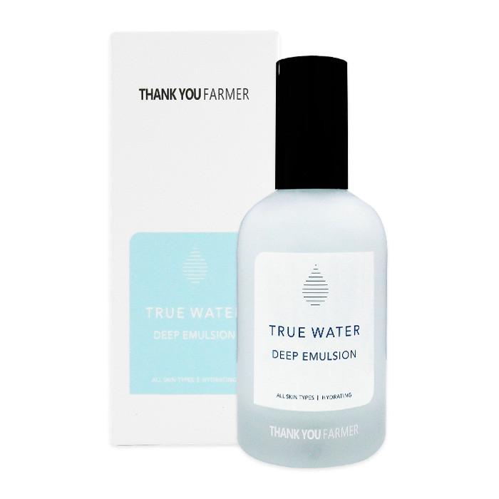 image of 韓國 Thank you Farmer 純淨絲滑保濕乳液 130mL  Korea Thank You Farmer True Water Deep Emulsion 130ml