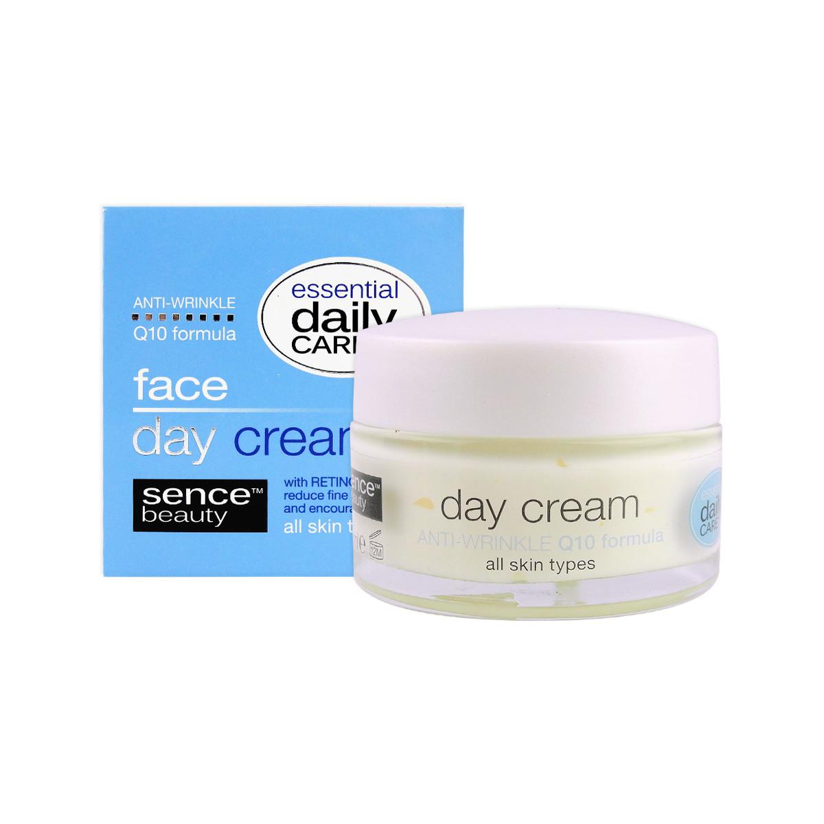 image of 歐洲Sencebeauty Q10緊實煥顏日霜50ml  Europe Sencebeauty FACE DAY CREAM Q10, 50 ML - ALL SKIN TYPES