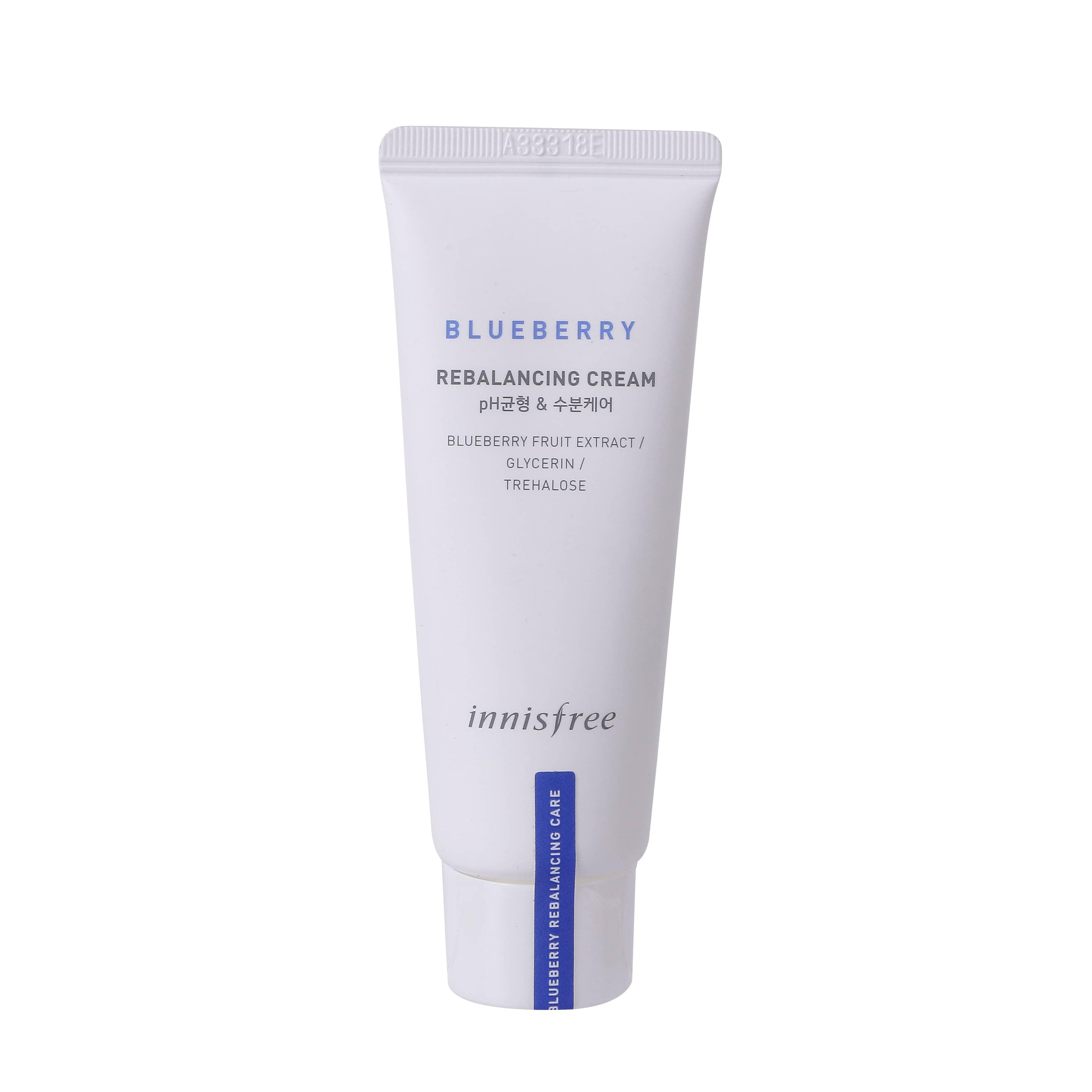 image of 韓國 innisfree 藍莓再平衡乳液 50ml  Korea Innisfree Blueberry Rebalancing Cream 50ml