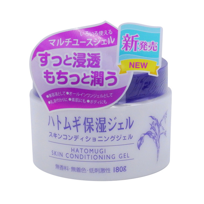 image of 日本 Imju 薏仁清潤保濕凝露 180g    Japan naturie Hatomugi Skin Conditioning Gel Moisturizer 180g