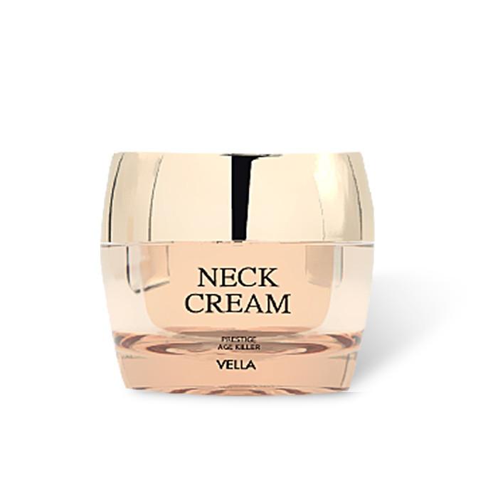 image of 韓國 抗皺緊緻亮白頸霜(第三代升級金裝版熨斗霜) 50ml   Korea Vella Neck Cream Prestige Age Killer 50ml