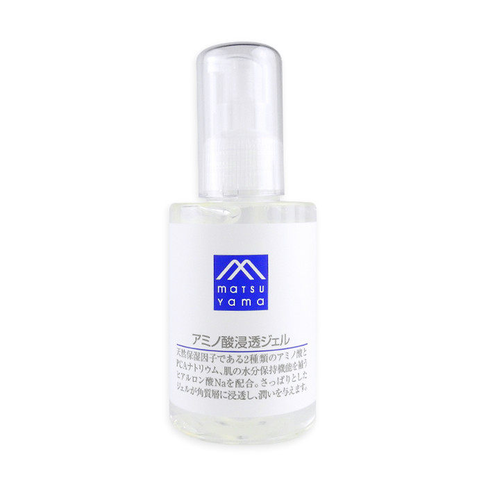 image of 日本 matsuyama 松山油脂 無添加胺基酸?透保濕凝膠 120mL  Japan Matsuyama M-mark Amino Acid Face Gel - 120ml