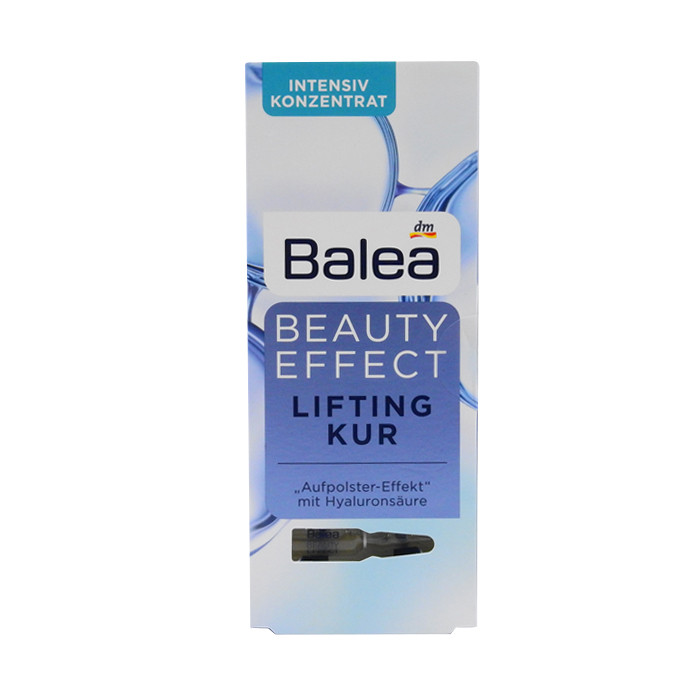 image of 德國 Balea 7日保濕精華安瓶 (1ml x 7)玻尿酸原液    Germany Balea Beauty Effect Lifting Kur Treatment Ampoules With Hyaluronic Acid 7x1 ml