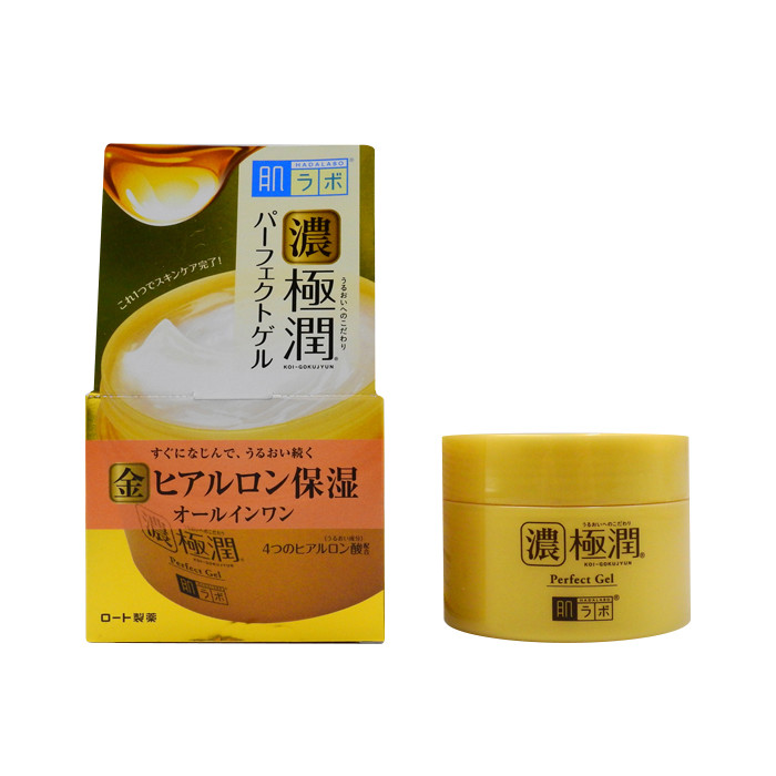 image of ROHTO 肌研 濃極潤保濕乳霜凝露 100g   ROHTO Perfect Gel 100g