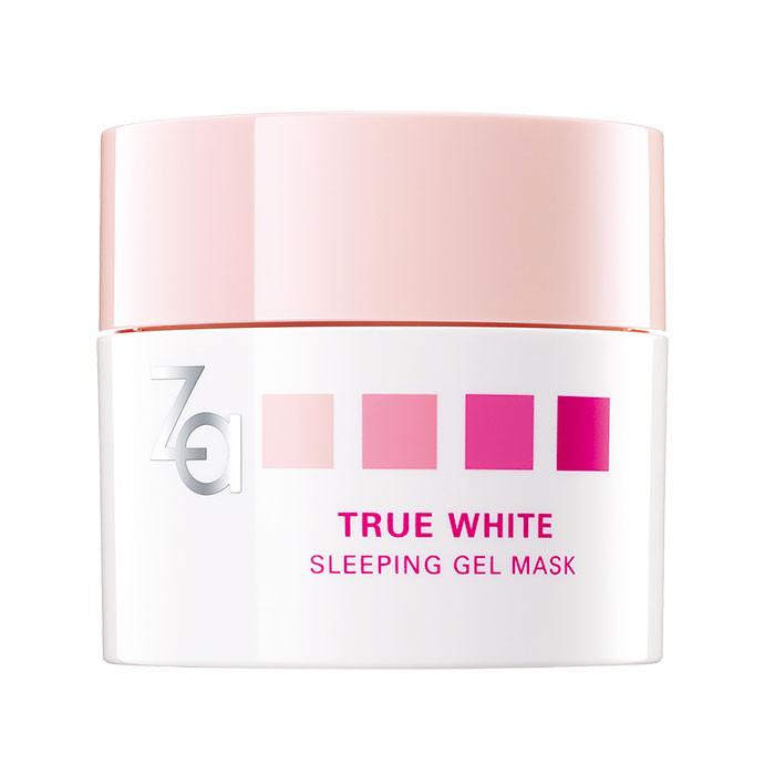image of Za 透白亮顏晚安凍膜50g~ 一覺醒來 肌膚喝飽水     Za True White Sleeping Gel Mask 50g