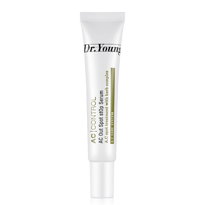image of 韓國 Dr.Young 黛兒漾 植淬淨肌粉刺調理精華 15mL          Korea Dr.Young  AC Out Spot Stop Serum 15mL