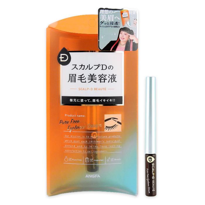 image of 日本 ANGFA 絲凱露 SCALP-D 實力派美眉精華液 2mL   Japan Angfa Scalp D Beauty Pure Free Eyebrow Serum 2mL