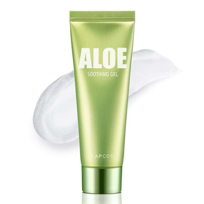 image of 韓國 LAPCOS 蘆薈舒緩保濕凝膠 80ml          Korea LAPCOS Aloe Soothing Gel 80ml