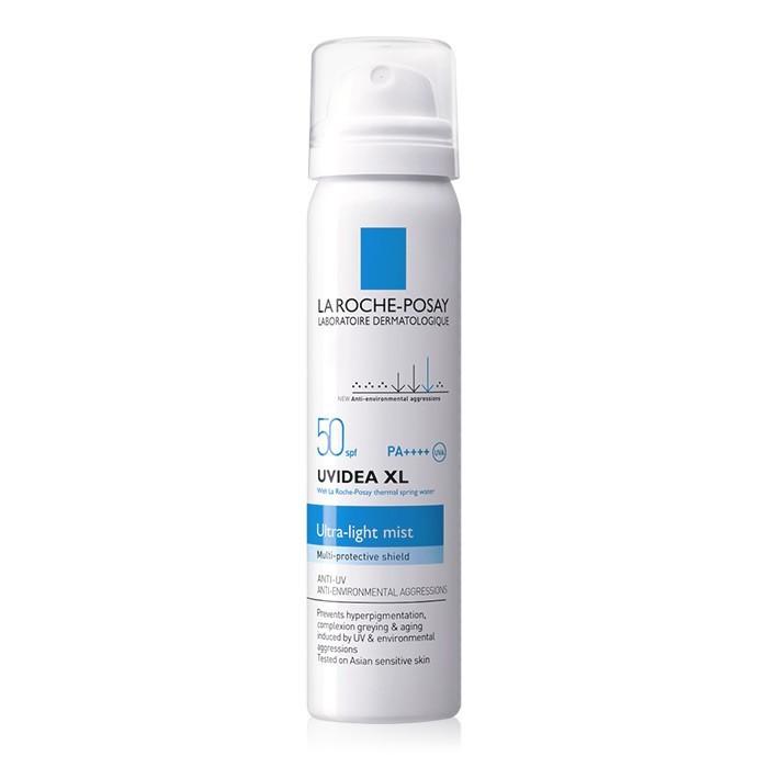 image of 法國 LA ROCHEPOSAY 理膚寶水 全護清爽防曬噴霧 SPF50 PA++++ 75mL    France La Roche-Posay UVIDEA XL Ultra-Light Mist SPF50 PA++++ 75ml