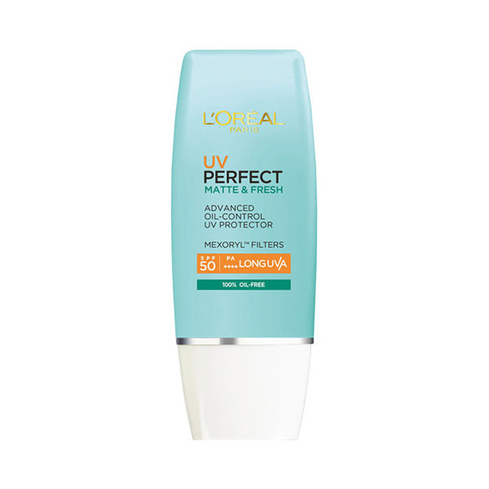 image of LOREAL 巴黎萊雅 完美UV全效無油清爽隔離乳 SPF50+ PA++++ 30ml   LOREAL  UV PERFECT MATTE & FRESH SPF50|PA++++ 30ml