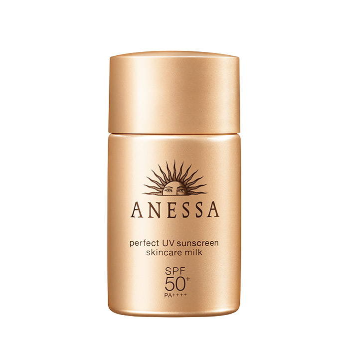 image of SHISEIDO 資生堂 安耐曬金鑽高效防曬露 20ml  Shiseido ANESSA Perfect UV Sunscreen Milk 20ml