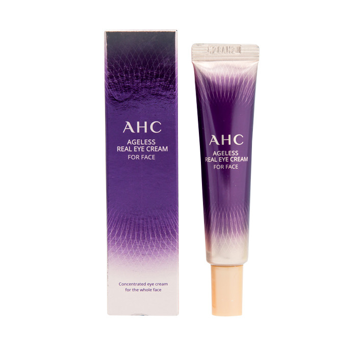 image of 韓國 AHC 第八代極致奢華無齡全效眼霜 12ml    Korea AHC Ageless Real Eye Cream For Face 12ml