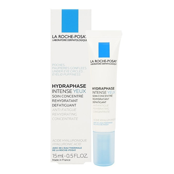 image of LA ROCHEPOSAY 理膚寶水 全日長效玻尿酸保濕修護眼霜 15mL   LA ROCHE-POSYA Hydraphase Intense Yeux Anti-Fatigue Rehydrating Concentrate 15mL