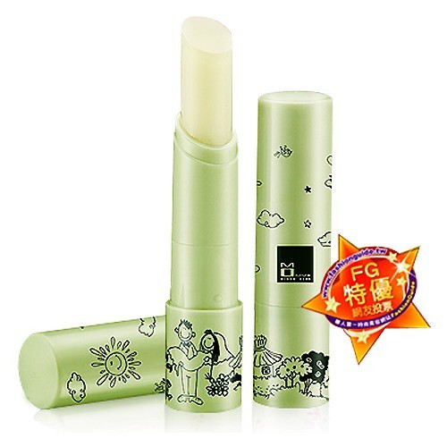 image of MOMUS 綠茶潤唇修護素+Plus 3.5g 護唇膏   MOMUS Natural Green Tea Anti-Oxidant Moisturizing Lip Balm 3.5g