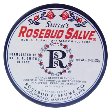 image of Smiths Rosebud Salve 玫瑰花蕾膏 22g    Smith's Rosebud Salve Original Lip Balm 22 g