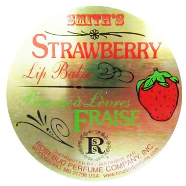 image of Smiths Rosebud Salve 草莓護唇膏 22g   Smith's Rosebud Salve Strawberry Lip Balm 22 g