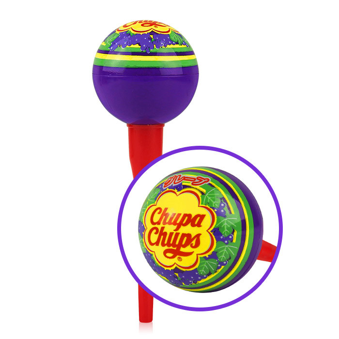 image of Chupa Chups 棒棒糖護唇膏 4g #.06 葡萄    CHUPA CHUPS X KISS ME LIP BALM 4g #.06 grape