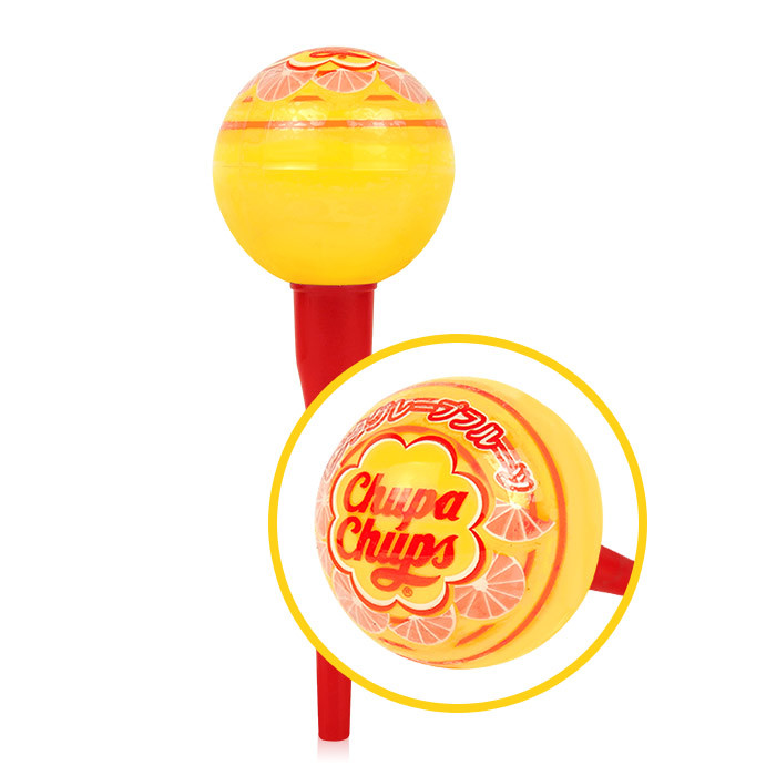 image of Chupa Chups 棒棒糖護唇膏 4g #.05 粉紅葡萄柚     CHUPA CHUPS X KISS ME LIP BALM 4g #.05   Pink grapefruit