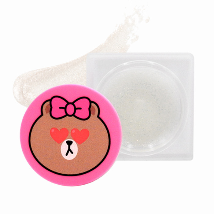 image of 韓國 MISSHA xLine Friends 聯名款 熊妹保濕護唇膏 4g     Korea MISSHA X LINE FRIENDS Jelly Pearl Lip Plumper 4g