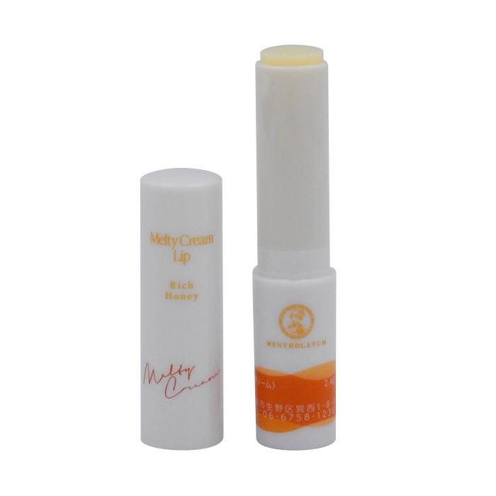 image of 曼秀雷敦 頂級濃潤柔霜潤唇膏 3.3g 蜂蜜    MENTHOLATUM Melty Cream Lip Rich Honey 3.3g