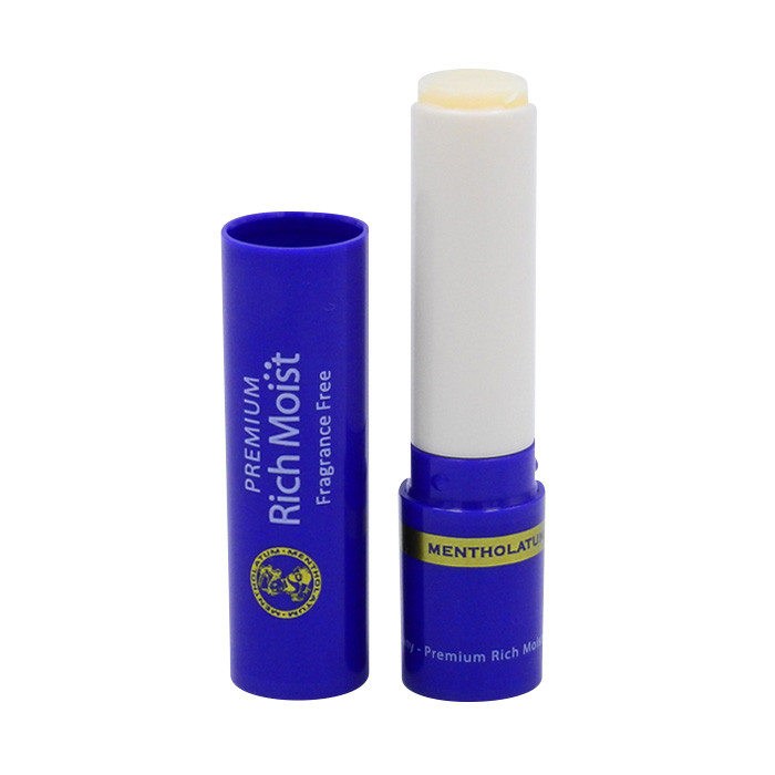 image of 曼秀雷敦 極緻精華保濕潤唇膏 3.3g 無香料   Mentholatum premium rich moist non fragrance 3.3g