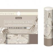 image of fleurient 沁潤保濕護脣膏 無色/香草 fleurient Vanilla Aromatic Moisturizing Lip Balm