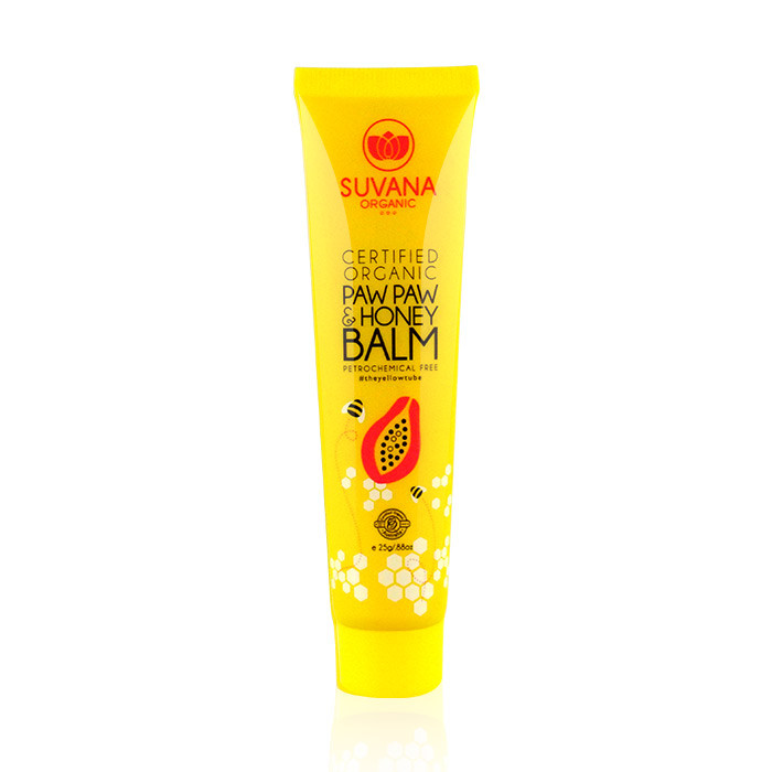image of 澳洲 Suvana 天然木瓜霜 25g #有機蜂蜜     Australia Suvana Organic Paw Paw & Honey Balm 25g