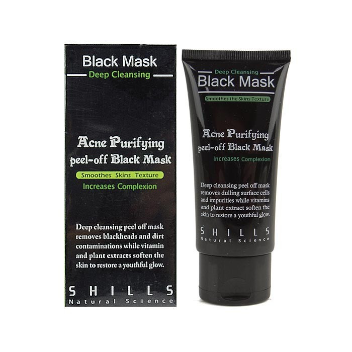 image of SHILLS 挽臉活性炭黑面膜 50ML   SHILLS Black Mask Deep Cleansing 50mL
