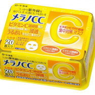 image of Melano CC 高浸透維他命C集中對策面膜(20片)  Rohto Melano CC Concentrated Measures Mask 20 Sheets Piece Type Big Capacity