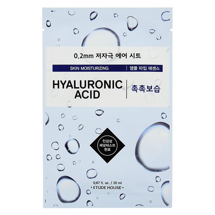 image of 韓國 ETUDE HOUSE 0.2mm精華面膜 20mL #.玻尿酸   Korea ETUDE HOUSE Skin Moisturizing 0.2mm 20mL Hyaluronic Acid