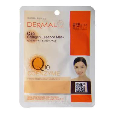 image of 韓國 DERMAL面膜 23g NO.23.Q10彈性活膚面膜   Korea DERMAL Q10 Collagen Essence Mask 23g