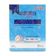 image of 森田藥粧 冰肌細白COOL保濕面膜 30g╳8入/盒  Dr. Morita Cool Down Whitening Essence Facial Mask 30g╳8pcs/box