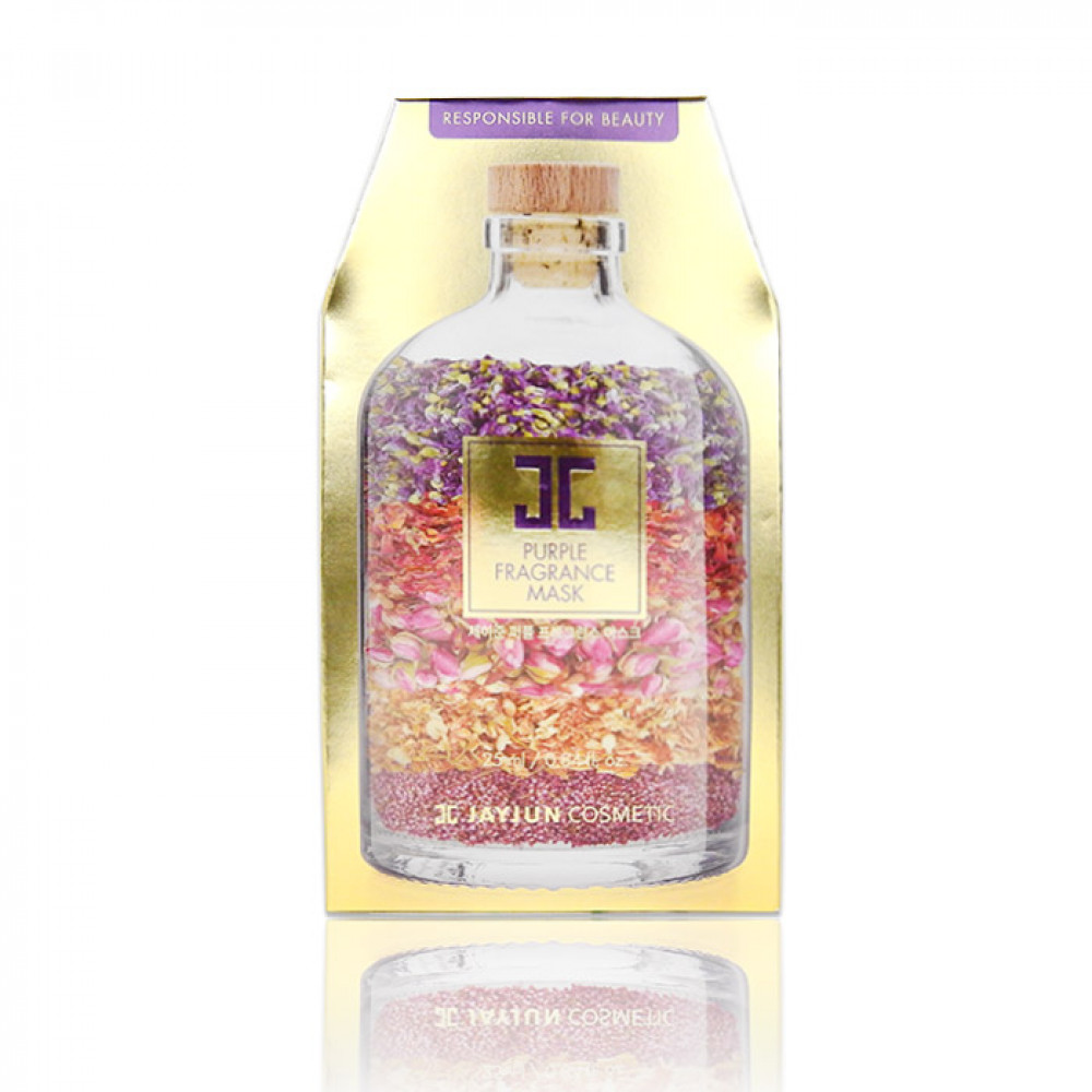 韓國 JAYJUN 水光紫色香薰面膜(10片入)    Korea JAYJUN Purple Fragrance Mask