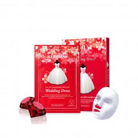 image of 韓國 MERBLISS 婚紗紅寶石活力面膜(單片) ~安宰賢代言~   Korea MERBLISS Wedding Dress Ruby Mask
