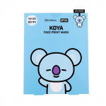 韓國 MEDIHEAL BT21聯名款 保濕面膜(附贈書籤明信片) 4片/盒 COOKY  Korea MEDIHEAL BT21 COOKY Face Point Sheet Mask Pack (4pcs/box)