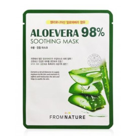 image of 韓國 FROM NATURE 98%蘆薈舒緩面膜(單片)   Korea  FROM NATURE Aloevera 98% Soothing Mask