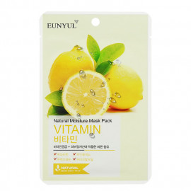 image of 韓國 EUNYUL 面膜(10入/包) 維他命活力   Korea EUNYUL Natural Moisture Mask Pack (10pcs/box) VITAMIN