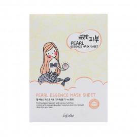 image of 韓國 esfolio 高效精華面膜(10片/盒) 珍珠   Korea ESFOLIO PURE SKIN PEARL ESSENCE MASK SHEET(10pcs/box)