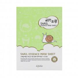 image of 韓國 esfolio 高效精華面膜(10片/盒) 蝸牛  Korea Esfolio Snail Essence Mask Sheet (10pcs/box)