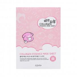 image of 韓國 esfolio 高效精華面膜(10片/盒) 膠原蛋白   Korea Esfolio Collagen Essence Mask Sheet (10pcs/box)